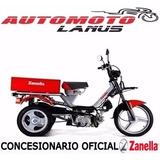 Zanella Tricargo 100 0km Automoto Lanus