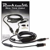 Jogo+ Cabo Rocksmith Real Tone Pc Xbox Ps3 Ps4+ Pen16gb Leia
