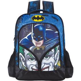 Mochila Escolar Infantil Costas Menino Batman Coringa 6182