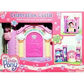 Juguete Mi Pequeño Pony G3 Celebración Castillo Playset Con