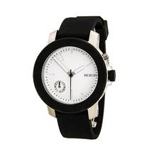 Reloj Nixon Raider Acero Caucho Negro Mujer A317000