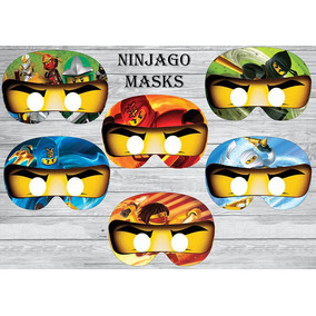 Mascara Antifaz Lego Ninjago