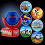 Velador Luz De Noche Infantil Mickey Mouse 6 Imágenes