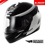 Casco Moto Ls2 Fluo Ff352 Blanco Nuevos