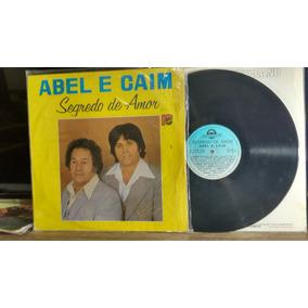 Lp Vinil Sertanejo Abel & Caim Segredo De Amor 1983