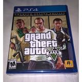 Ps4 Grand Theft Auto V 5 Premium Online Edition * Fisico