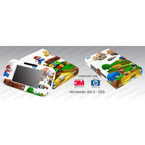 Skin Nintendo Wii U Adesivo Super Mario 3d