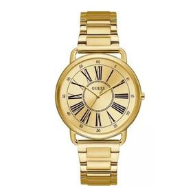 Relogio Dourado Guess Steel Feminino W 094116 - Relógios De Pulso no ... 320b81e4e7