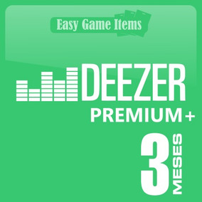 Deezer 3 Mes Envio Email