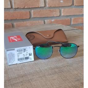 Óculos Ray Ban Round Blaze Rb3574 Rosa + Rb3447 Verde · R  550 4a97079346
