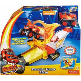 Blaze And The Monster Machine Pista Aro De Fuego Remate