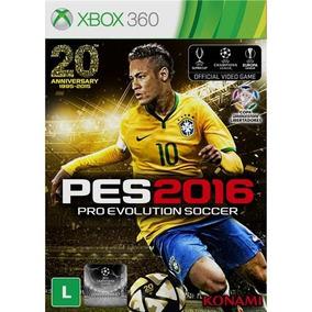 Pro Evolution Soccer 2016 - Pes 16 - Xbox 360 - Novo Fisica