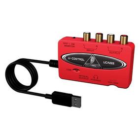 Placa De Audio Behringer Usb Interface Uca222