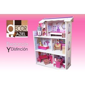Casa Para Muñeca Barbie 1mt X 70 Liquidación Total Oferta!!