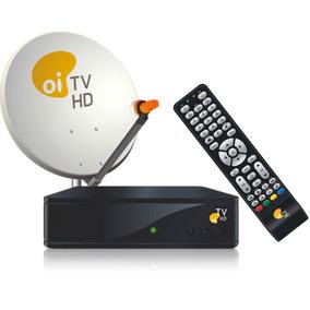 Oi Tv Livre Em Hd Kit Antena Receptor Habilitação Globo E S