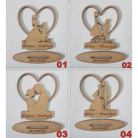 100 Lembrancinhas De Casamento Mdf Cru 10cm - Frete Grátis