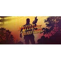 Jagged Alliance Deadly Games Pc Original Pronto Envio Grátis