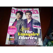 Revista Atrevida Com The Vampire Diaries Capa + Reportagem
