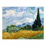 Cuadro Canvas Campo De Trigo Con Cipreses Van Gogh 55x70