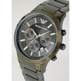 c597f70be06 Relógio Emporio Armani Ar2428 Stainless Steel And Brow - Relógios no ...