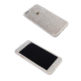 Iphone 7 Plus Bling Skin Sticker Supstar Full Body C -plata