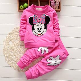 Lindo Conjunto Moletom Disney Minnie Pronta Entrega