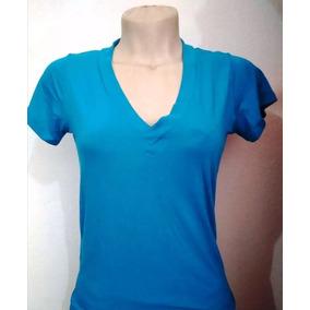Camiseta Plus Size Blusa Manga Curta Viscolycra Lisa Verão