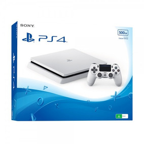 Playstation 4 Ps4 Branco + Barato Do Mercado Livre