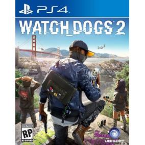 Wach Dogs 2 - Ps4 - Mídia Física.