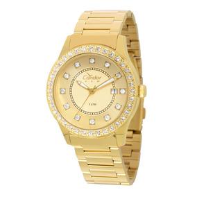 Relógio Feminino Condor Copc32ar/4x Pulseira Aço Dourado
