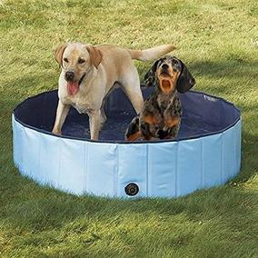 Petfly Bañera Para Mascotas, Inflable Para Perros Bañera Pa