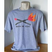 Camiseta Unissex Diet Skaboard