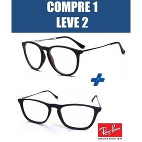 Armaçao Oculos De Grau Erika Ray Ban - Óculos no Mercado Livre Brasil 40c2db75e6