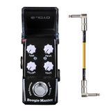Pedal Mini Joyo Ironman Boogie Master Mesa Boogie + Cable