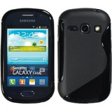 Capa Gel Tpu Samsung Galaxy Fame S6810 S6812 Pelicula Gratis