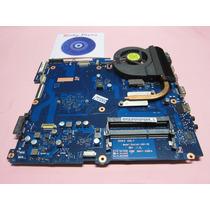 Placa Mãe Notebook Samsung Rv415 Ba92-11822b Com Cooler