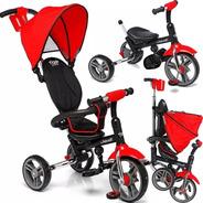 Triciclo Bebe  Plegable  Asiento Reclina Tiger Deluxe Promo
