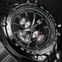 Relógio De Pulso Curren Preto M8083 Digital Quartz Aço Inox