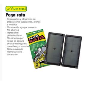 Pega Rata Raton Con Dos Trampas Cucarachas Arañas Insectos