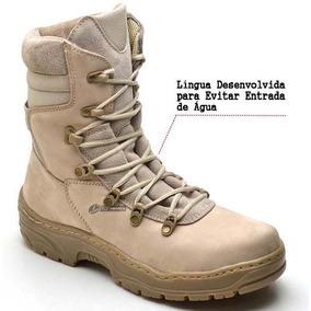 Coturno Masculino Tático Bota Militar Americana Bope Desert