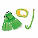 Set 3 Piezas Snorkel Intex Niños