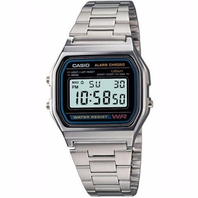 Reloj Casio Vintage A158 Plata Original