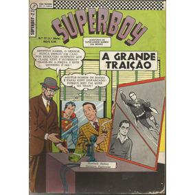 Hq Superboy 1968 (ed Ebal) 1ª Série Nº 27 Frete Grátis