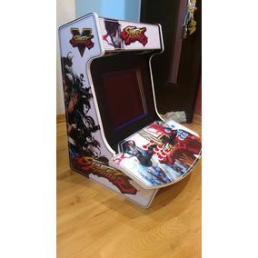 Fliperama Arcade Bartop Multijogos P/2 Jog. (8000 Jogos)