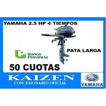 Yamaha Fuera Borda F 2,5 Amhl 4 Tiempos Pata Larga