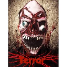 Máscara Terror 100% Látex El Mejor Precio De M L