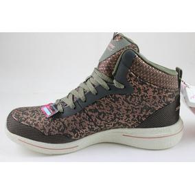 zapatos skechers usados de damas blancas