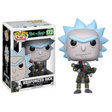 Funko Pop Animation Rick And Morty Weaponized Rick