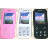 Capa Silicone Celular Mp7 Mp8 Mp12 E71 + Pelicula Lcd