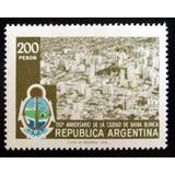 Argentina, Sello Gj 1835 Bahía Blanca 78 Mint L5125